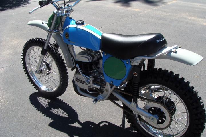 75 Bultaco #135 250 Pursang Vintage Motorcycle Restoration