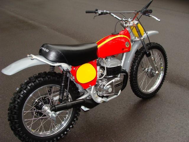 1974 Bultaco 121 360 Pursang Vintage Motorcycle Restoration